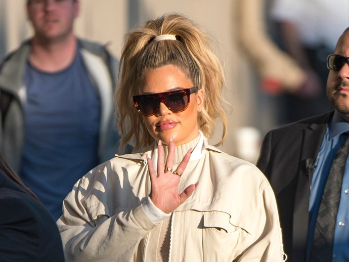 Khloé Kardashian told these randos about her pregnancy before she told her sisters