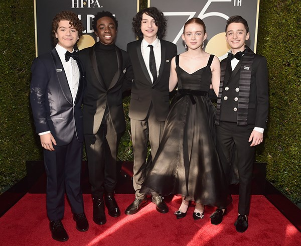 *Stranger Things* cast