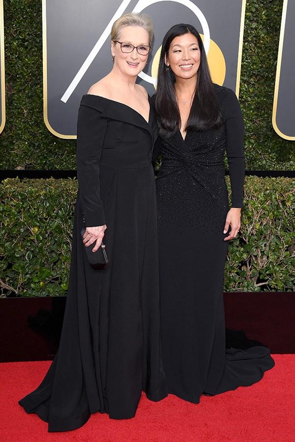 Meryl Streep and Ai Jen Poo
