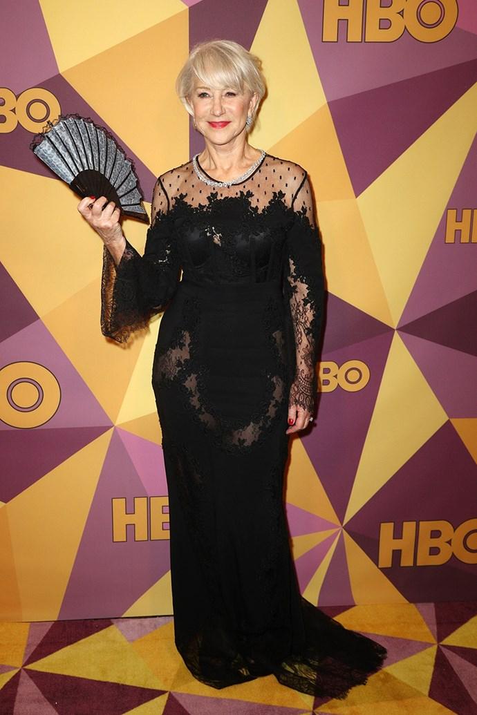 Helen Mirren in Zuhair Murad
