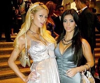Paris Hilton Kim Kardashian Wedding