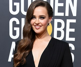 An appreciation post for Katherine Langford's Golden Globes hair
