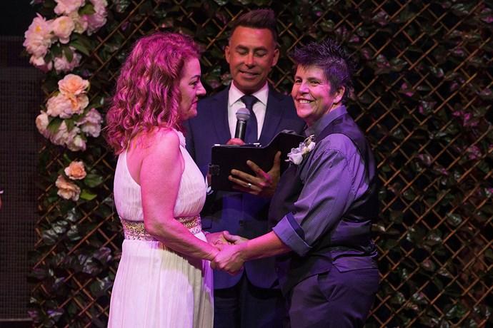 Lisa Goldsmith and Gillian Brady's wedding