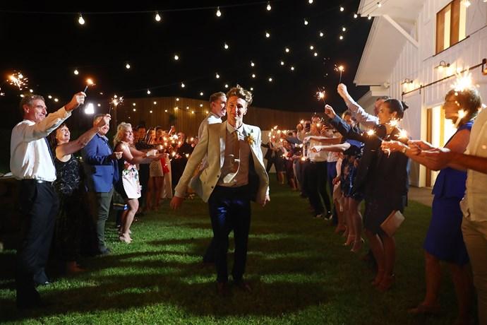 Luke Sullivan and Craig Burns' wedding.
