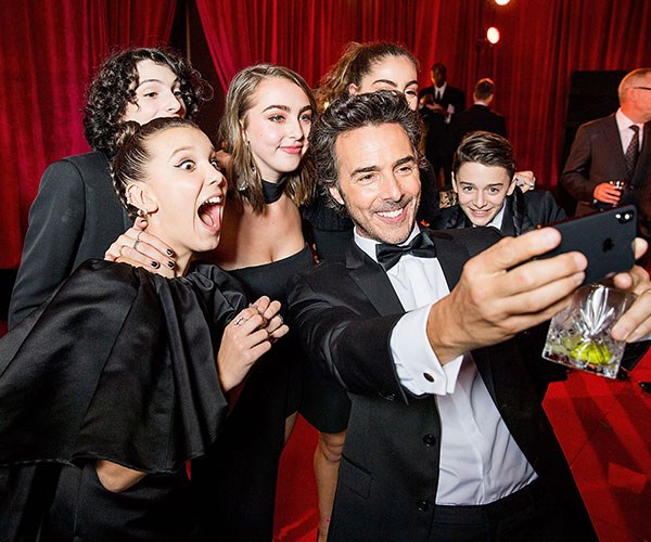celebrity golden globes after party pictures