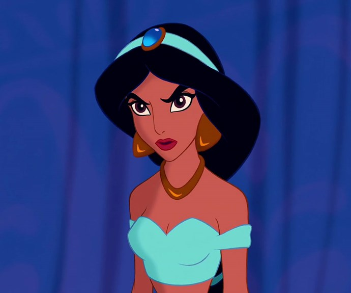 disney aladdin whitewashing jasmine