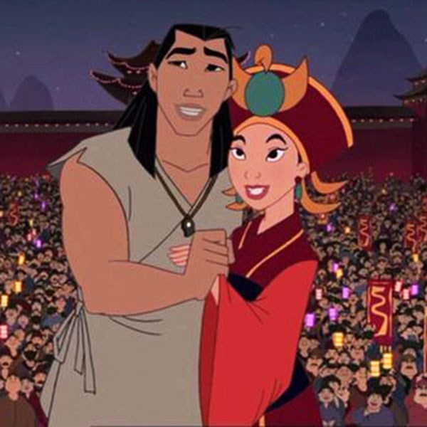 ***Mulan***  Mulan's wedding dress in the sequel was super tradish and we love everything about it.