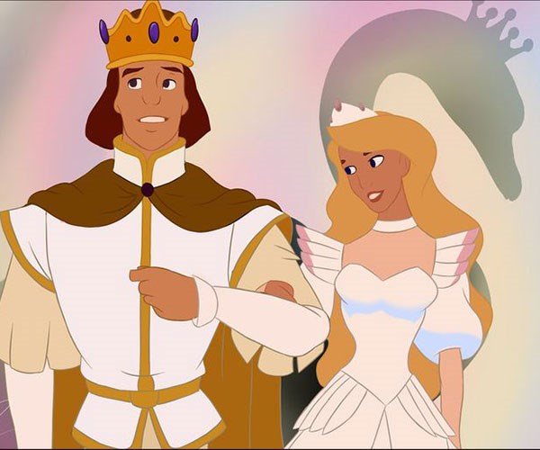 **Honourable Mention: *The Swan Princess***  And a shout out to Princes Odette who wasn't *technically* a Disney princess but still had a killer gown.