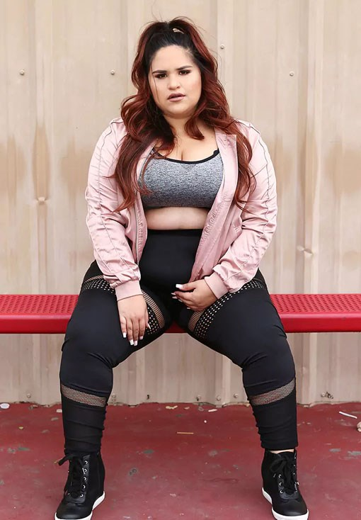 Plus Size Mesh Insert Leggings, $11.45 from [Forever 21](https://www.forever21.com/us/shop/Catalog/Product/plus/plus_size-activewear/2000171826).
