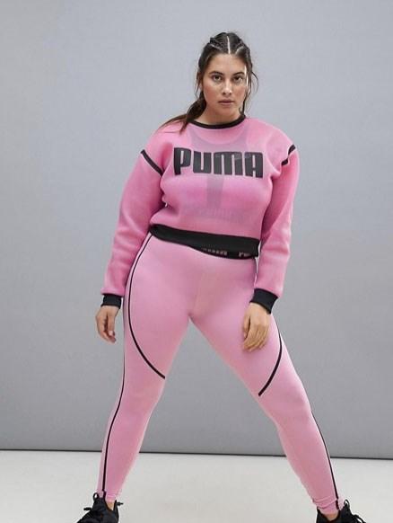 Puma Plus Exclusive To Asos Tie Detail Leggings In Purple, $80 from [ASOS](http://www.asos.com/au/puma/puma-plus-exclusive-to-asos-tie-detail-leggings-in-purple/prd/8871675).