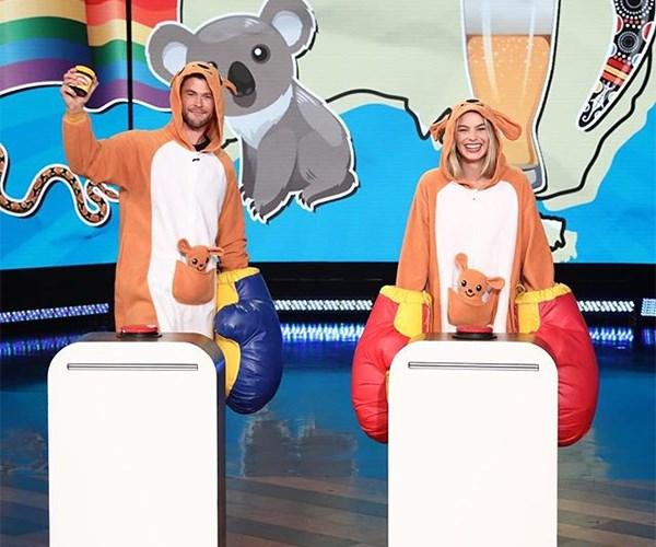 Chris Hemsworth and Margot Robbie on The Ellen Show