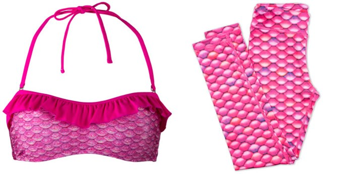 "Crop, $45 (approx.) at [Fin Fun Mermaid](https://www.finfunmermaid.com/malibu-pink-bandeau-bikini-top|target=""_blank""