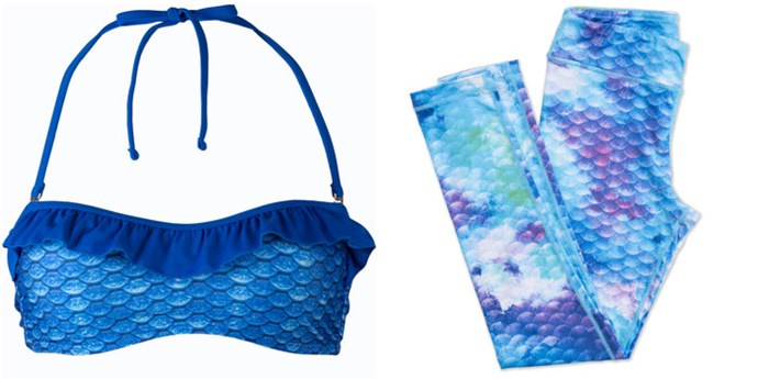 "Crop, $45 (approx.) at [Fin Fun Mermaid](https://www.finfunmermaid.com/arctic-blue-bandeau-bikini-top|target=""_blank""