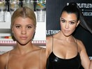 People Think Sofia Richie Dyed Her Hair to Look Like Kourtney Kardashian