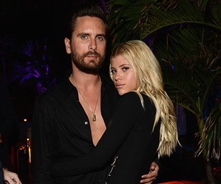 Sofia Richie looks exactly like Kourtney Kardashian in Scott Disick's latest Instagram