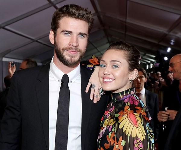 Liam Hemsworth Miley Cyrus Chris Hemsworth