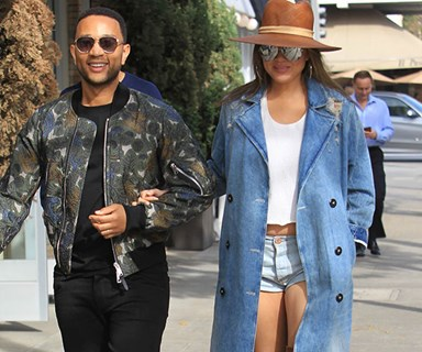 Chrissy Teigen's maternity style is just as good the second time round