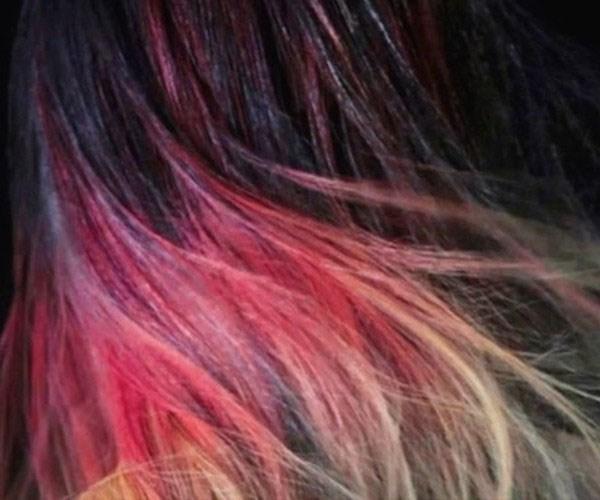 the unseen fire hair dye