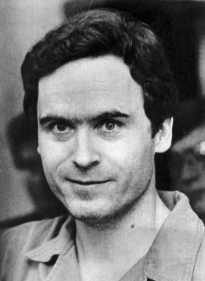 The real serial killer Ted Bundy.