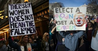 The funniest and most important signs from the Women's March 2018