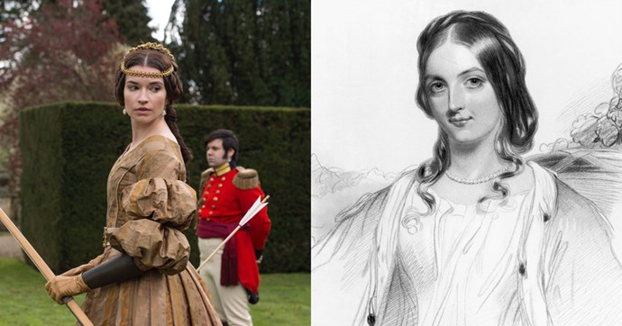 **Harriet, Duchess of Sutherland (Margaret Clunie)**  Harriet was one of Victoria's closest friends and served as Mistress of the Robes off and on from 1837 to 1861. Her grandmother was Georgiana Cavendish, Duchess of Devonshire, who you may remember from the 2008 Keira Knightley movie *The Duchess*.