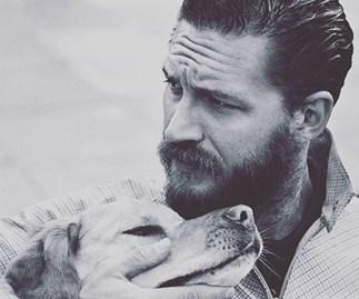 Tom Hardy Adopts Dogs