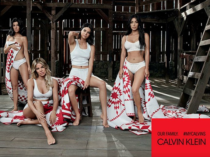 People genuinely think Kim Kardashian was replaced by a lookalike in Calvin Klein campaign