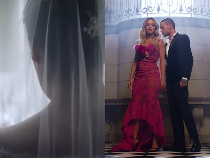 See More of Ana's Wedding Dress in Rita Ora and Liam Payne's New Fifty Shades Freed Music Video