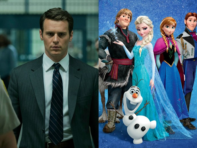 Did you know Mindhunter's Holden Ford voices one of the main characters in Frozen?