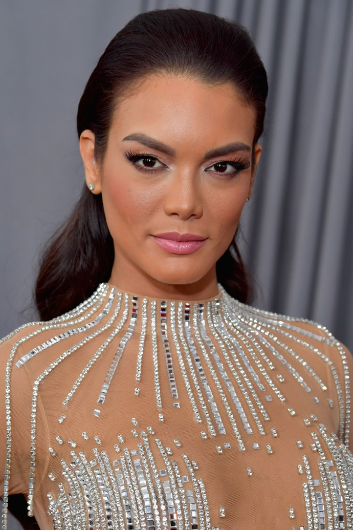 **Zuleyka Rivera** <br><br> The actress kept her look to the basics, but still managed to look ultra glam. A coiffed wavy 'do, winged eye and light contouring is a surefire win on any red carpet.