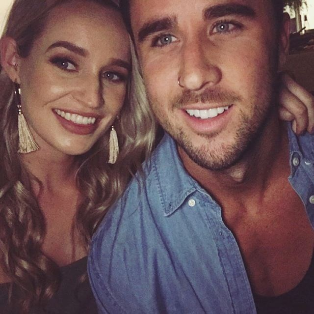 """**Brett Moore** <br><br> Are you ready for another *Bachelor*/*Bachelorette* crossover? Brett, who didn't really say anything on Sophie's season — it was all edited out — appears to be loved-up with Stephanie Boulton, who you *may* recognise from Matty J's season of *The Bachelor*. They're both Perth-based, so it makes sense. And now they're all about wanderlust with their Instagram pictures. Cute. <br><br> *Image: [@stephanieeeeb](https://www.instagram.com/p/BekgMRalEO9/?taken-by=stephanieeeeb