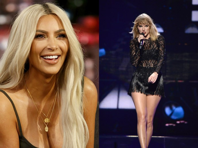 """Kim Kardashian shades Taylor Swift and other """"haters"""" in Valentine's Day gift list"""