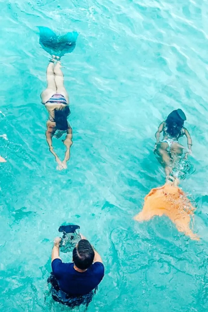 **Mermaiding, $60 each, [Airbnb Experiences](https://www.airbnb.com.au/experiences/151942?location=Sydney%2C%20New%20South%20Wales&source=p2&currentTab=experience_tab&searchId=fd2c49a0-cb40-4d68-bf52-198beb50d650&federatedSearchId=73b418b2-c5ea-4ecb-b922-93f68b4de546&sectionId=05e25318-08cb-4b45-b6fd-f03993e1c193&recommended_instance_id=397469).** <br><br> Ever dreamt of being a mermaid? Well now you can transform into one with your best mer-mates by donning flippers and learning just how Ariel really does it. The mermaiding class ends with a poké bowl on the beach — what could be better?!