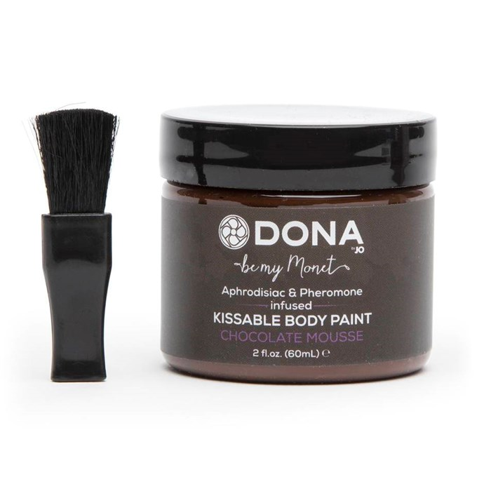 DONA Pheromone Infused Chocolate Body Paint, $14.95 from [Lovehoney](https://www.lovehoney.com.au/product.cfm?p=38806).