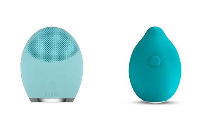 Foreo's Luna Play, left; and the Minna Limon Squeeze, right.