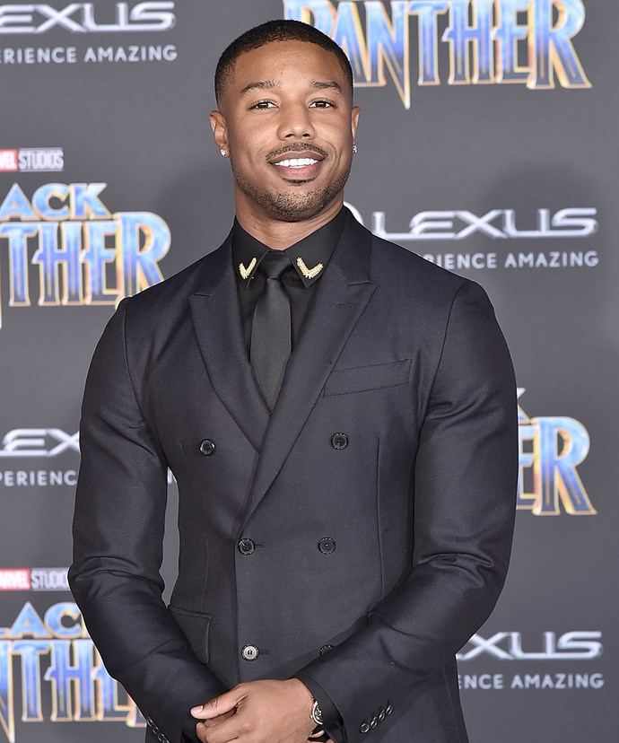 **Michael B. Jordan** <br><br> We know, *we know*, Michael is not exactly 'new' talent and has been working for a while. But the 30 year old is really stepping up this year as the (hot) bad guy in *Black Panther*, which means he'll be out and about doing heaps of promo, and is a certified member of the Marvel crew.