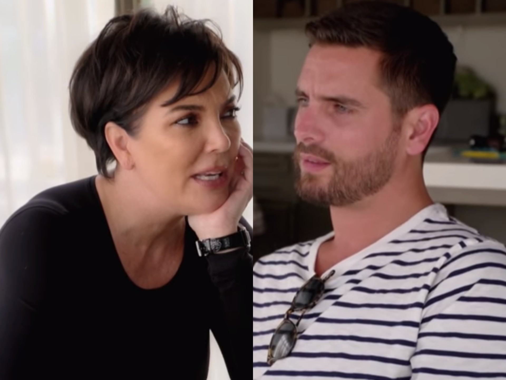 Kris Jenner Grills Scott Disick on Sofia Richie's Age and Relationship Status