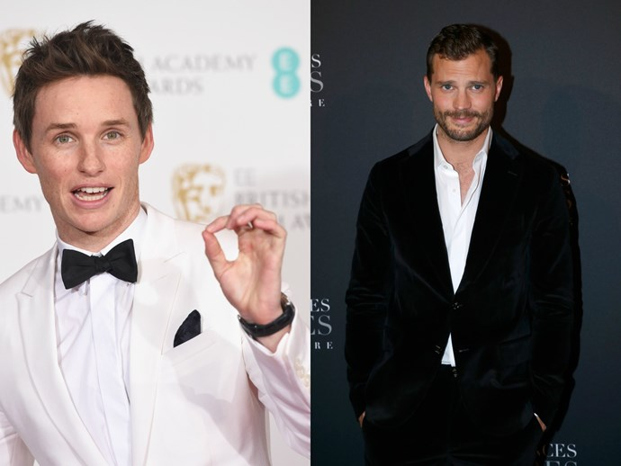 Here's what Eddie Redmayne and Jamie Dornan had to say about that time they lived together