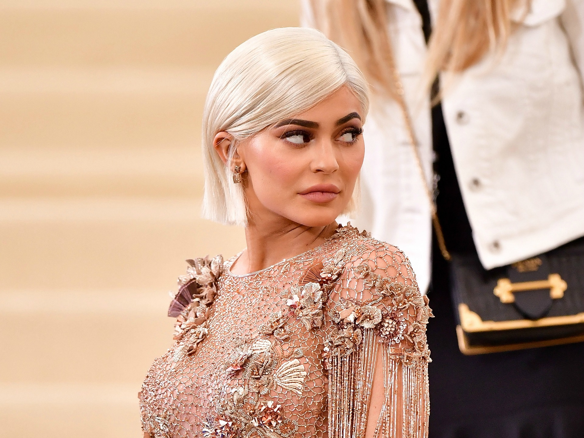 Kylie Jenner shares first photos post giving birth to daughter Stormi