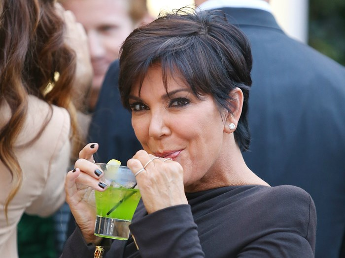 Kris Jenner drunk singing the Spice Girls is our new aesthetic
