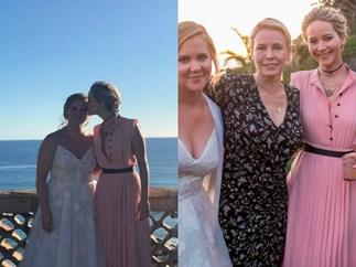 Jennifer Lawrence spills more details about Amy Schumer's super secret wedding