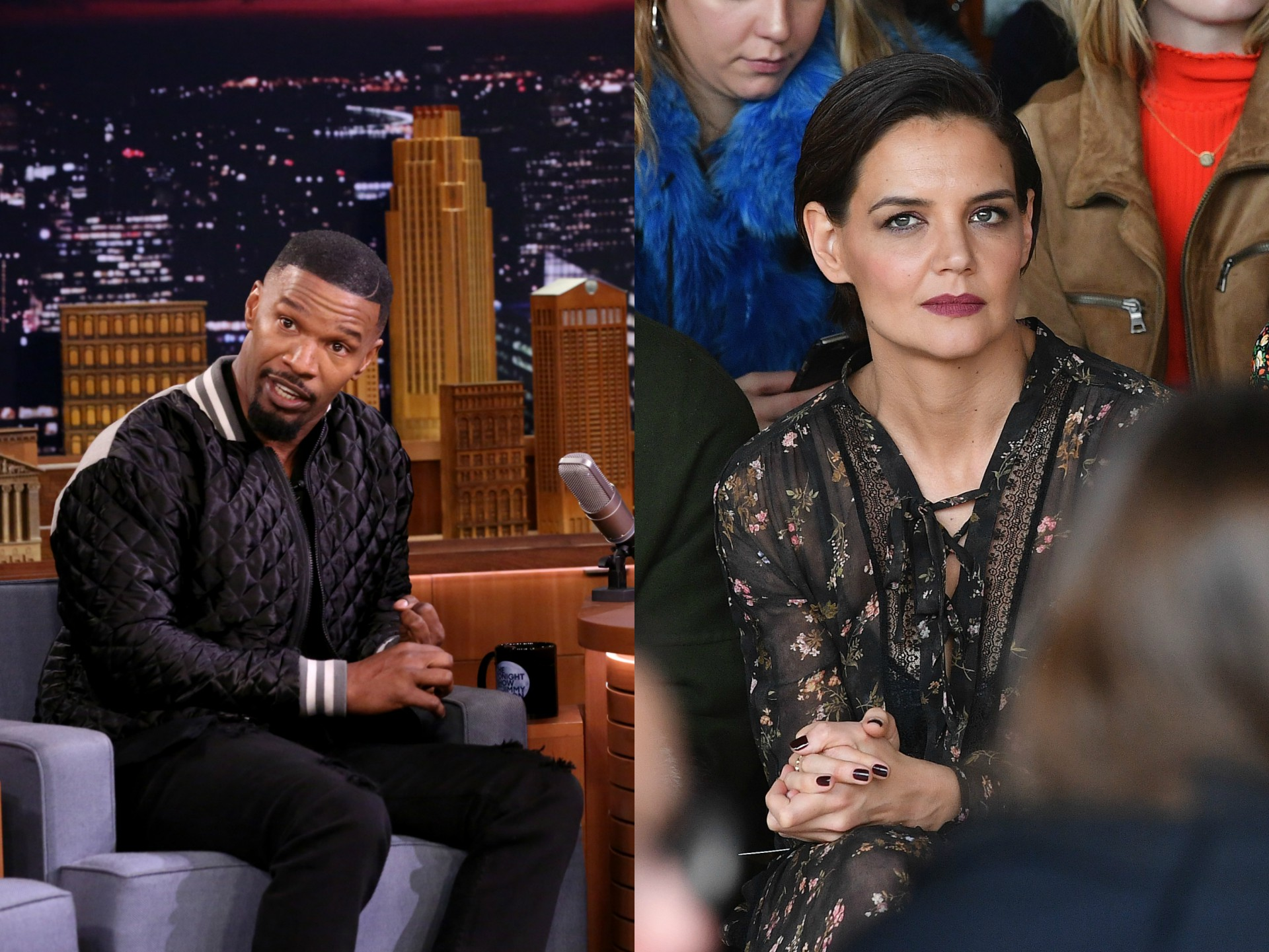 Jamie Foxx walks out of interview after Katie Holmes questions