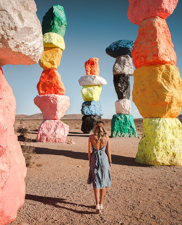 Seven Magic Mountains = Insta heaven.