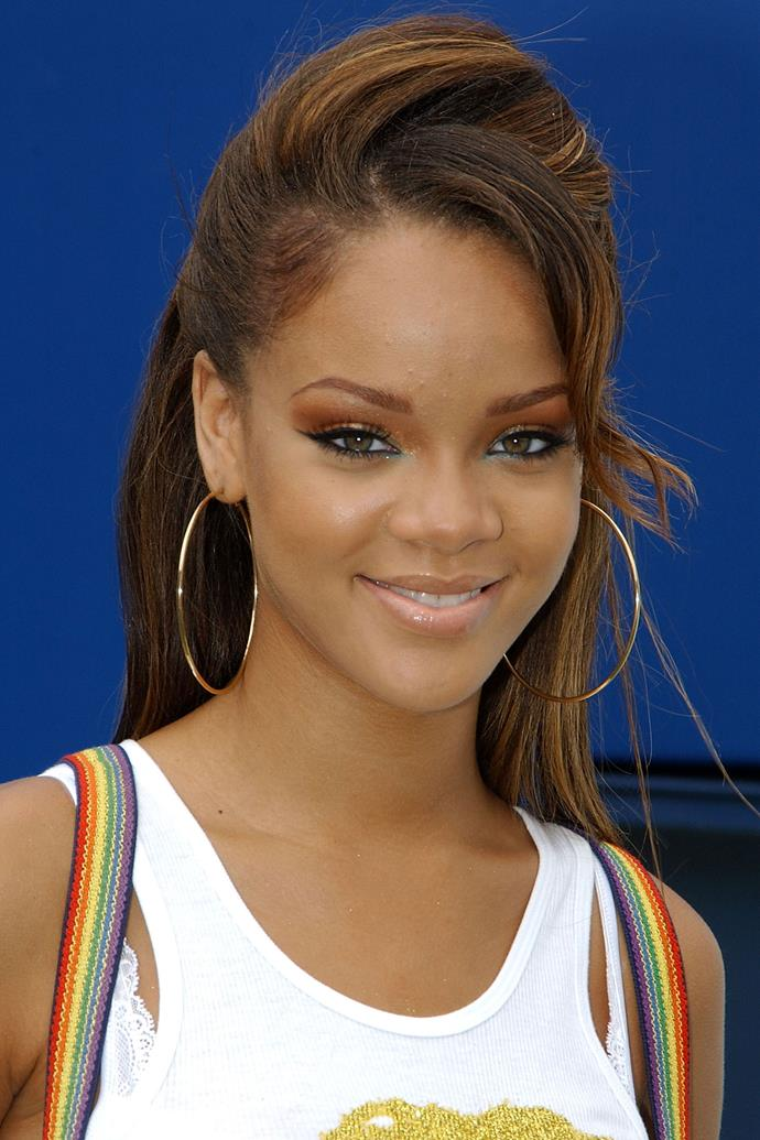 There were two things that were big in 2005 for sure: 'Pon De Replay' and Rihanna's hair.