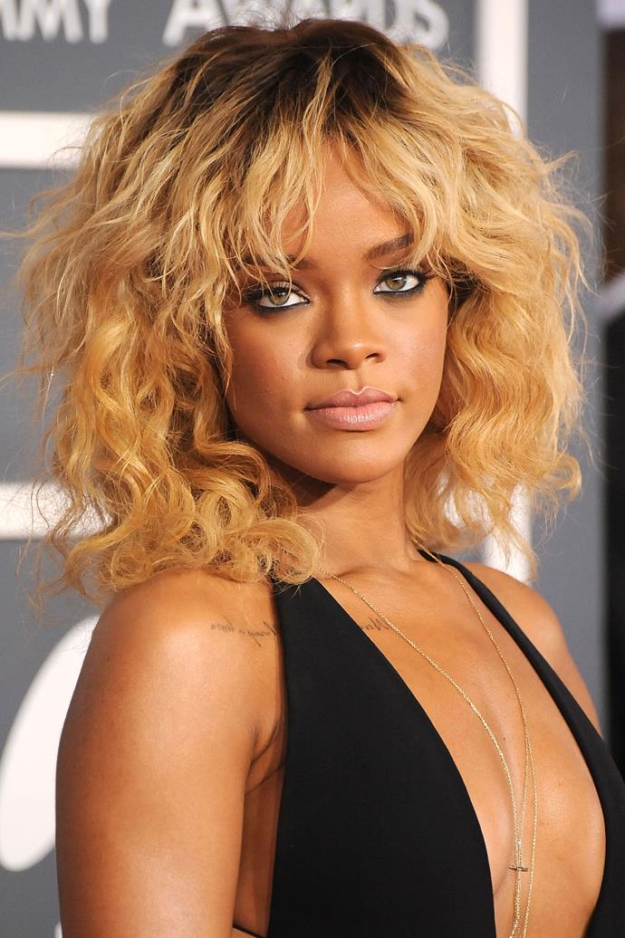 We LOVED Rihanna's blonde hair.