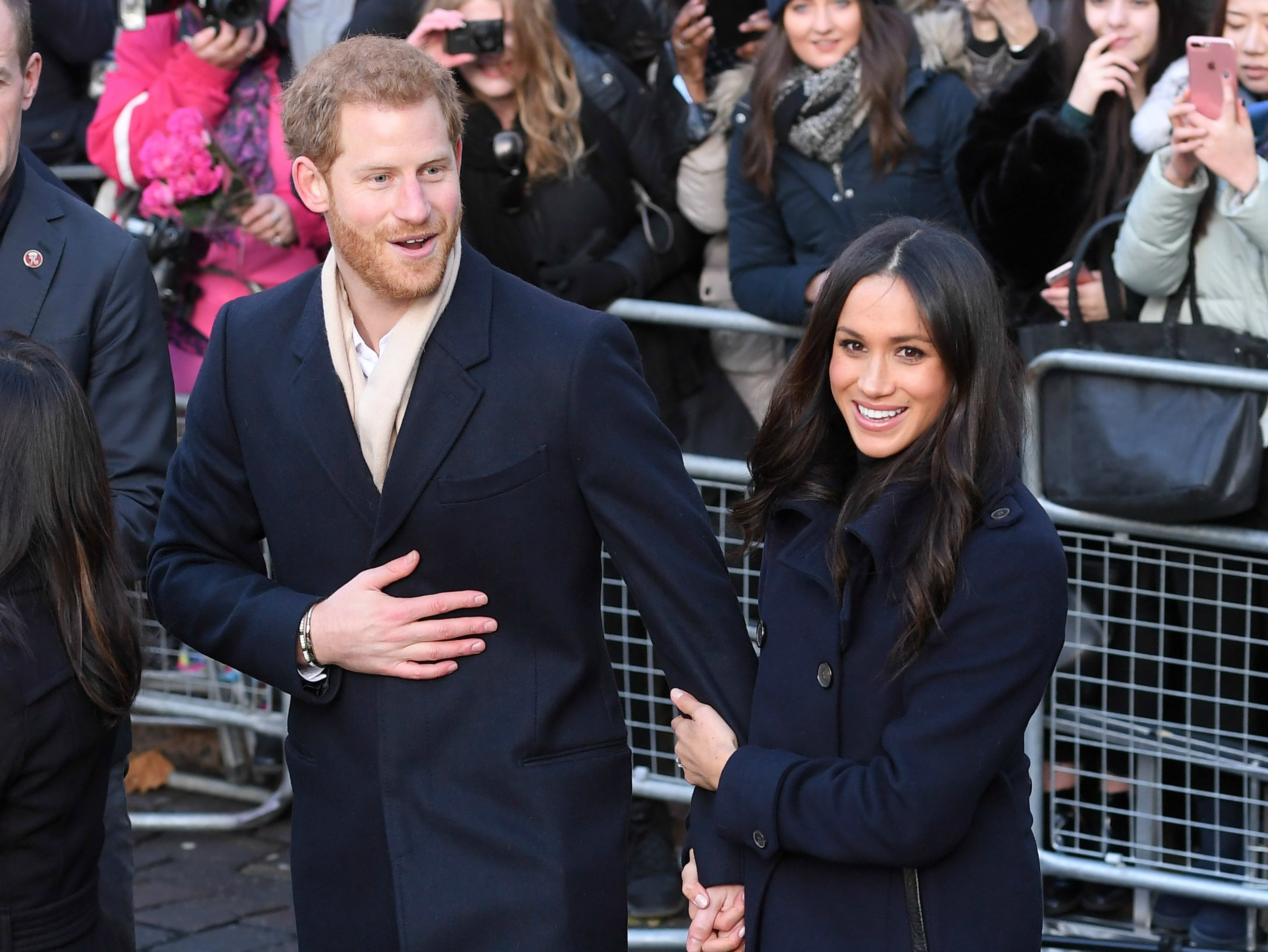 Here's who helped Meghan Markle get through her pre-wedding jitters