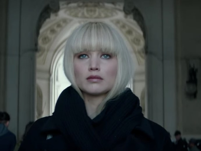 Jennifer Lawrence's new movie Red Sparrow is a hot sexist mess