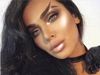 Fishtail eyebrows are trending according to Huda Kattan and sorry, whuuuut?