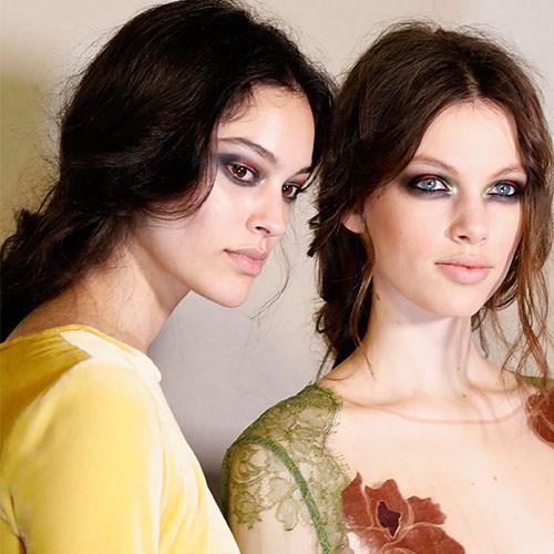 Models at Alberta Ferretti autumn/winter '17.