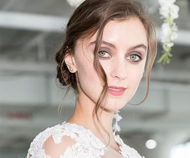 12 messy updos to inspire your wedding day hair